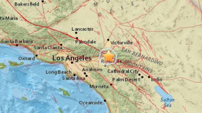 Temblor de magnitud 3.2 sacudió el sur de California