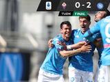 Hirving Lozano y Napoli se aferran a Champions con triunfo contra Fiorentina