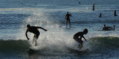 En fotos: las 10 playas más sucias y más limpias en el sur de California