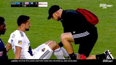 ¡Alarma en la Selección de EUA! Sebastian Lletget se lesiona y abandona el partido al minuto 7'