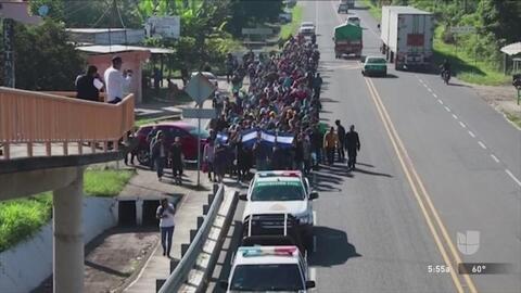 """""""Venimos a ver cómo está nuestra gente"""", el mensaje de un representante del gobierno de Guanajuato sobre su visita a San Antonio"""