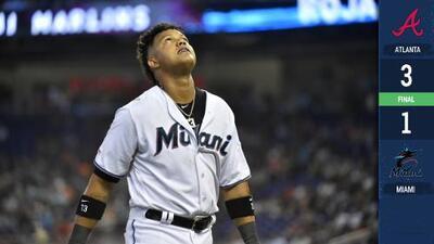 Atlanta barre a Marlins y Miami es el peor en las Grandes Ligas