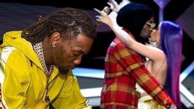 Offset 'grita a los 4 vientos' que extraña a Cardi B (y el rapero 50 Cent le da un consejo)