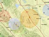 Reportan sismo de mediana intensidad en el centro de California