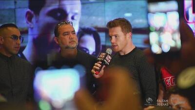 Canelo Álvarez y Amir Khan ya están en Las Vegas