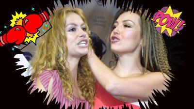 Las eternas rivales: Thalía y Paulina estuvieron en Latin GRAMMY, ¿se agarraron de las greñas o no?