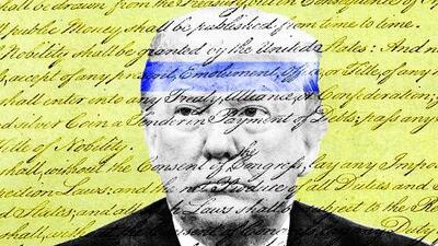 """Trump contra la Constitución: el insólito caso de un presidente que considera """"fraudulenta"""" una ley fundamental"""