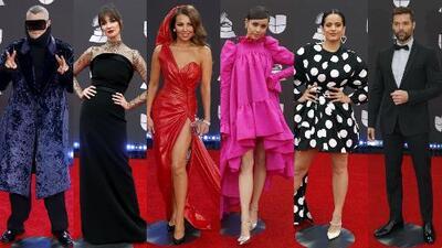 Los mejor y peor vestidos de Latin GRAMMY: estos famosos se arriesgaron y Jomari Goyso evaluó sus looks