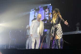 "¡""Can't stop dancing"" con J Balvin y Becky G en Houston!"