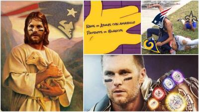 Memelogía | Brady, Maroon 5, Bob Esponja y más de las mejores burlas del Super Bowl LIII