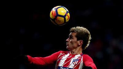 Griezmann es duda con el Atlético de Madrid para medirse al Betis de Guardado