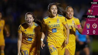 ¡La reina vive! Tigres Femenil derrotó a Tijuana y está en Semifinales
