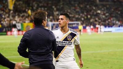 """Cristian Pavón: """"En Boca no tuve continuidad en el último tiempo, acá en Galaxy, Guillermo me banca"""""""