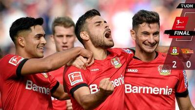 Bayer Leverkusen vence 2-0 al Union Berlin