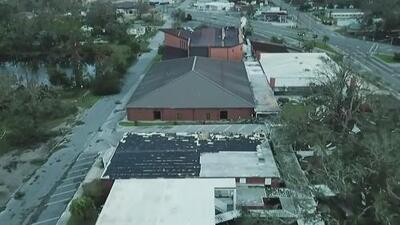 Cruz Roja de Sacramento ayuda a los damnificados del huracán Michael