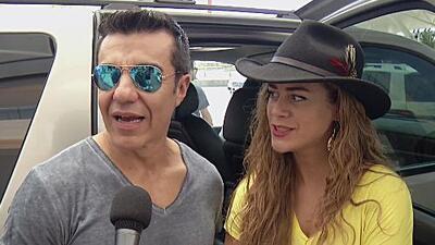 Adrián Uribe se va de viaje con su novia Candela Márquez
