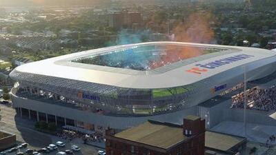 FC Cincinnati revela nuevas imágenes del que será su futuro estadio en Major League Soccer