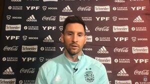 Messi: Es momento de dar un golpe, esta Copa es la oportunidad
