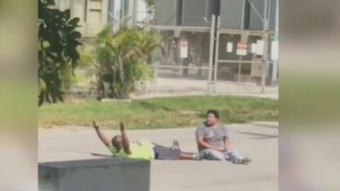 North Miami Beach y cinco policías de esa ciudad enfrentan una demanda civil por el caso del joven autista y su cuidador