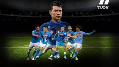 Los goleadores del Napoli que buscará alcanzar Hirving Lozano