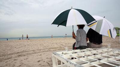 Calor intenso y probabilidad de tormentas para este lunes en Miami