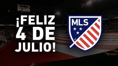 ¡Feliz 4 de julio de parte de todos nosotros en la MLS!