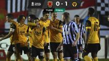 ¡Volvió al triunfo! Wolverhampton venció al Chorley en la FA Cup