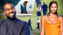 Kanye West e Irina Shayk han estado saliendo desde hace meses (esta fue la primera pista)