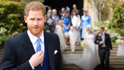 Lo que no has visto de la boda de Lady Gabriella (a la que Harry tuvo que ir sin Meghan por una razón de peso)