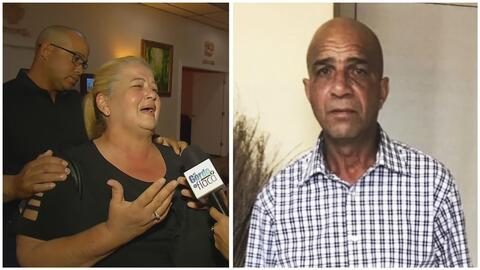 La pareja de Juan Hernández llora devastada en el funeral y se siente mal en plena entrevista