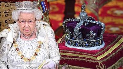 La reina Isabel tendría una razón de peso (literal) para no haber llevado la joya más importante de la realeza