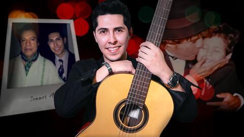 El origen del nombre de Santiago Alberto guarda una relación especial con Juan Gabriel