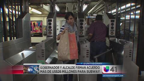 Acuerdos para mejorar el metro de NY