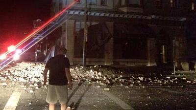 Un sismo de 6.0 grados dejó decenas de lesionados en California