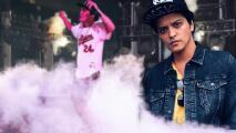 Incendio en el escenario obliga a Bruno Mars a detener concierto en el Reino Unido