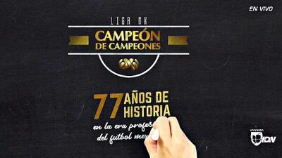 Historia ilustrada de los vencedores del título Campeón de Campeones