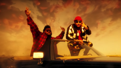 """Belly drops hypnotizing video featuring The Weeknd in """"What You Want"""""""