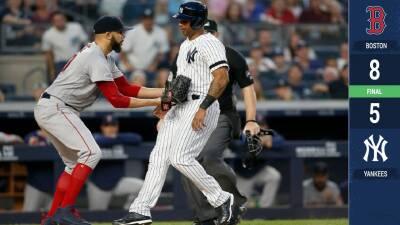 David Price y un error de Clint Frazier permiten a Red Sox eludir la barrida ante los Yankees