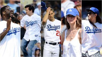Los famosos que sufren la eliminación de los Dodgers en la MLB