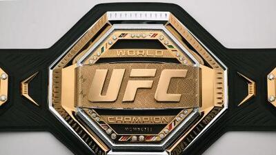 UFC devela el nuevo cinto de los campeones del octágono: el Legacy Championship Belt