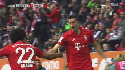 ¡Pone las redes a bailar! Lewandowski suma su gol 12 en Bundesliga