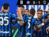 Inter de Milán celebra su título de la Serie A con goleada ante Sampdoria