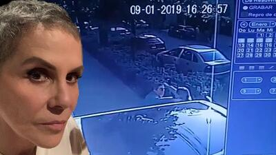 Rebecca Jones revela video de un accidente que le pudo costar la vida