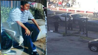 Revelan videos de cámaras de agentes que mataron a tiros a un hispano de 14 años en Los Ángeles