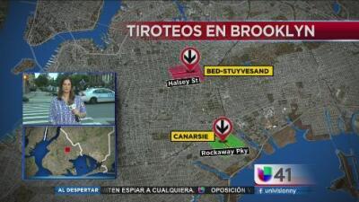 Dos tiroteos registrados en Brooklyn dejan a un muerto y dos heridos