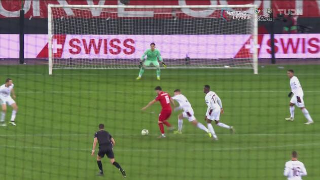 Suiza 1-0 Georgia  – Resumen y gol – Grupo D - Clasificación a la Eurocopa