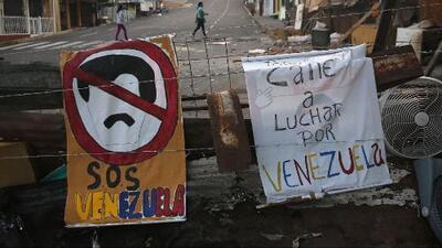 'Gran trancazo', nueva jornada de protestas organizadas por la oposición en Venezuela