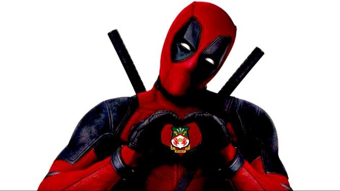 Compra Deadpool al equipo galés Wrexham AFC