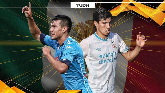 Lozano y Gutiérrez, momentos distintos en Europa League