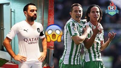 ¿Xavi sería el nuevo técnico de Guardado y Lainez en el Betis?